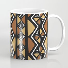 African mud cloth Mali Coffee Mug
