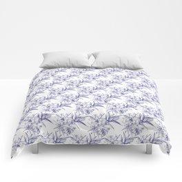 Lilium Speciosum (white) Comforters