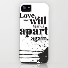 Joy Divided iPhone Case