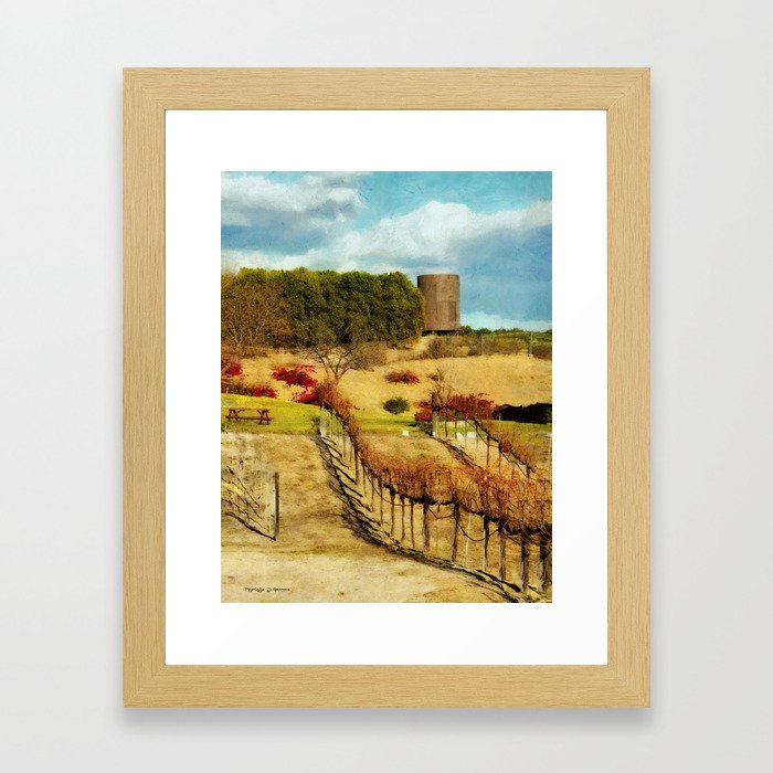 Temecula Wine Country Framed Art Print