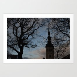 Magic place Art Print