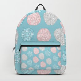 Pastel Brains Pattern Backpack