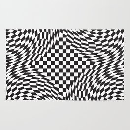 Checkered Warp Rug