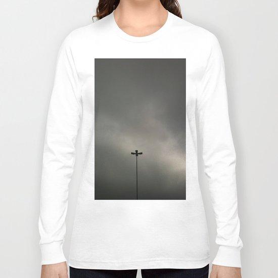 Gray Sky Long Sleeve T-shirt