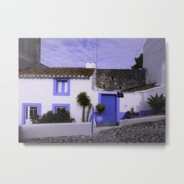 Home in Nazare Metal Print