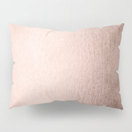 Moon Dust Rose Gold Pillow Sham