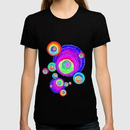 Colorful Secret Geometry   painting by Elisavet #society6 T-shirt