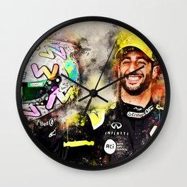 Daniel Ricciardo Wall Clock