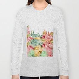 Albany City Skyline Long Sleeve T-shirt