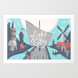 Graft - Light & Day Art Print