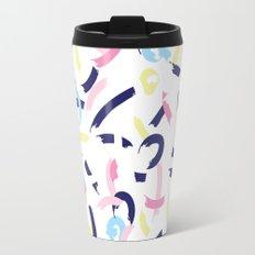 Pastel smudges Travel Mug