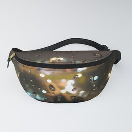 Rainy Night City Fanny Pack