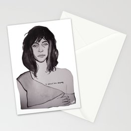 Patti Smith on Richard Mapplethorpe Stationery Cards