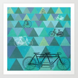Tour de'Triangle Art Print