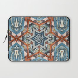 Abstract Geometric Structures Laptop Sleeve