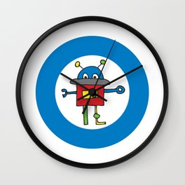 Robot One Wall Clock