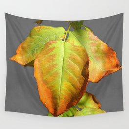 Autumn in suspension Wall Tapestry