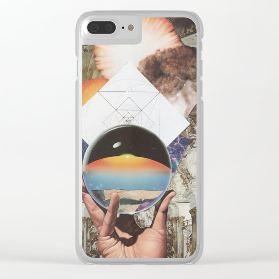 Hand of Symmetry Clear iPhone Case