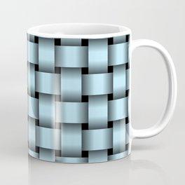 Pastel Blue Weave Coffee Mug