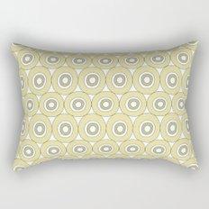 dots in green Rectangular Pillow