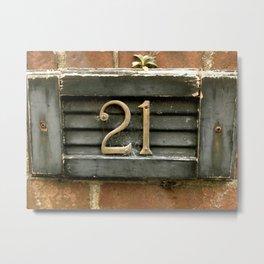 Creepy House 21 Metal Print