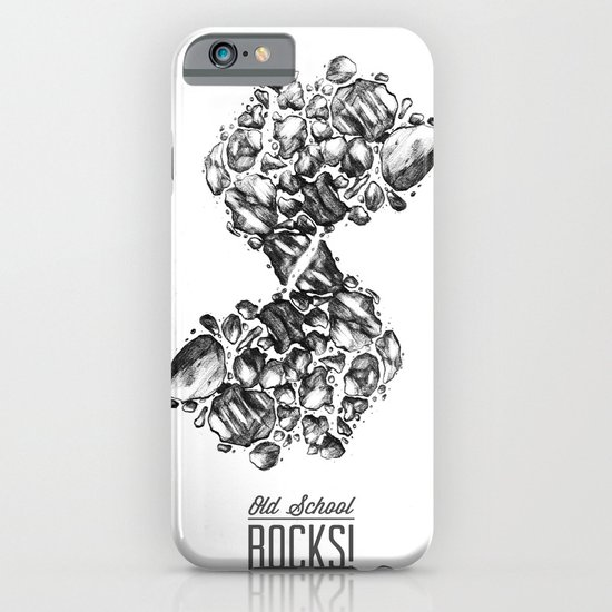 Old School Rocks (Classic Rock Version) iPhone & iPod Case