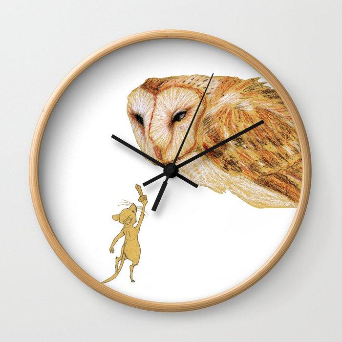 Brave Little Warrior Wall Clock