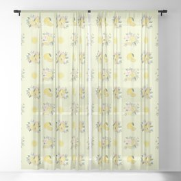 FRESH SQUEEZED! Sheer Curtain
