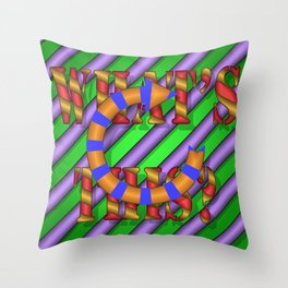 WHAT'S THIS? 02 Throw Pillow