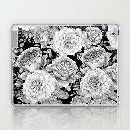 ROSES ON DARK BACKGROUND Laptop & iPad Skin