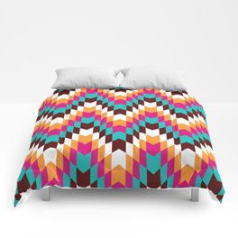 Tribal Chevron II Comforters