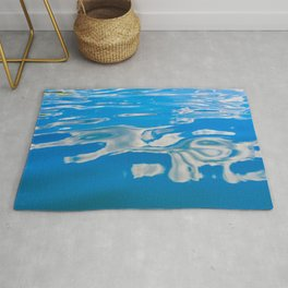 Clouds on Water Rug