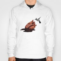 hummingbird Hoodies featuring Hummingbird by Seamless