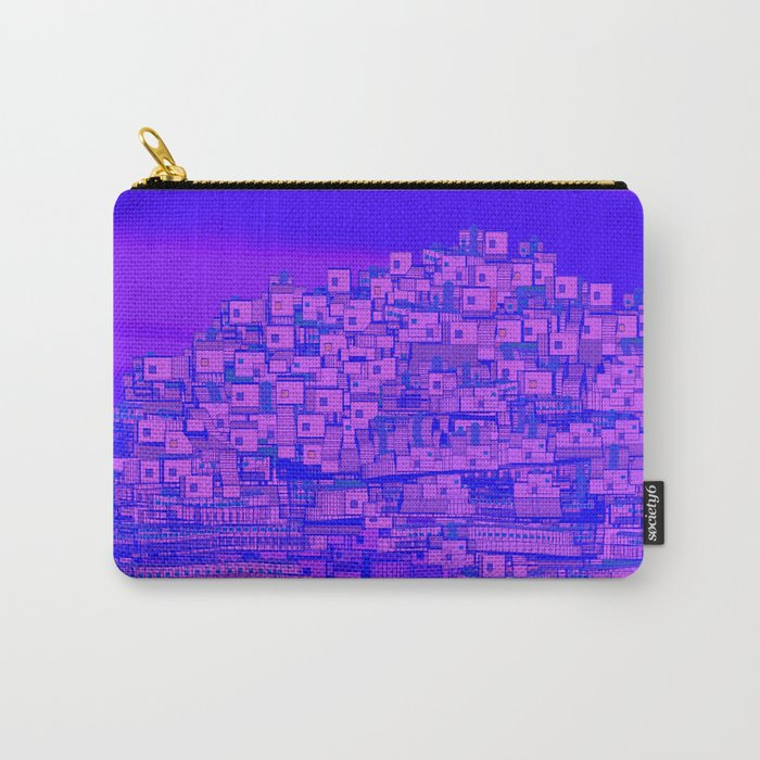 Dreaming Mediterranean Sunset Carry-All Pouch