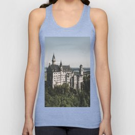 Neuschwanstein fairytale Castle - Landscape Photography Unisex Tank Top
