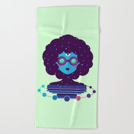 Ethereal Mistress Beach Towel