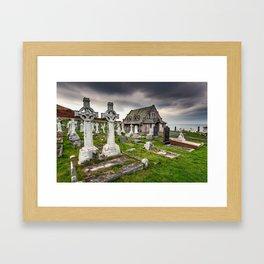 Saint Tudno Llandudno Framed Art Print