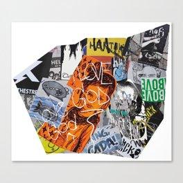 Paris Graffiti: 8th Arrondissement Canvas Print