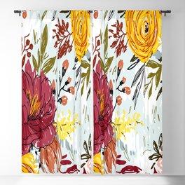 Beautiful Roses Blackout Curtain