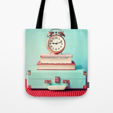 Clock is ticking Tote Bag