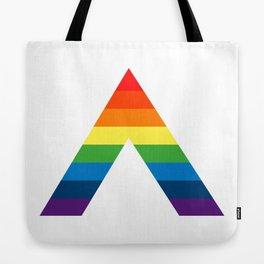 LGBT ALLY Rainbow Gay Pride Flag Tote Bag