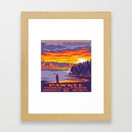 Pawnee National Park Framed Art Print