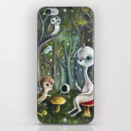 Uney & Friends in the Enchanted Forest iPhone Skin