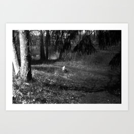 In Repose Art Print