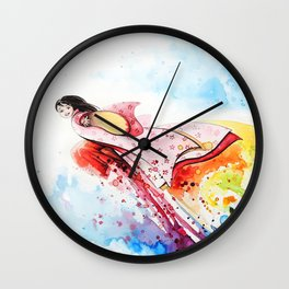 """""""Come with me"""" Wall Clock"""