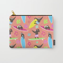 Surfing Sloths Carry-All Pouch
