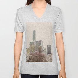 Skyline #2 Unisex V-Neck