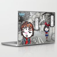 manga Laptop & iPad Skins featuring Shoujo Manga  by I love Bubbah