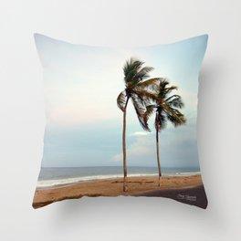 Playa La Caracola Throw Pillow