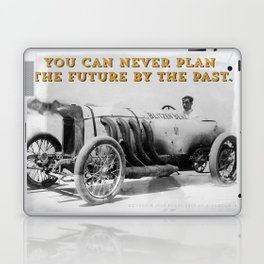 BLITZEN BENZ - You can never plan the future by the past. Laptop & iPad Skin
